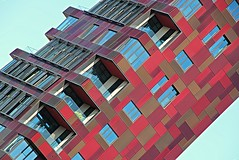3D Puzzle (Fotoristin - blick.kontakt) Tags: hamburg architectur speicherstadt building office diagonal lines abstract pattern colourful geometry 3dpuzzle fotoristin