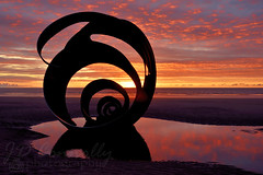 Mary's Shell (Jason Connolly) Tags: cleveleys cleveleyssunset cleveleysbeach cleveleyslandscape marysshell thefyldecoast thefylde fyldecoast fyldecoastsunset lancashire lancashirelandscape lancashirecoastline lancashiresunset