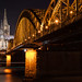 Kölner Dom Nachtaufnahme
