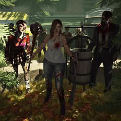 {Blog 93} Zombie Apocalypse (veronica gearz) Tags: avi avatar alex blog blogger blogging bloggers blogs secondlife second sl 2ndlife life maitreya mesh maxigossamer cheekypea badunicorn erratic ncore elikatria earthstones epiphany kunst ama izzies flite lilbug salem zombies zombie apocalypse zombieapocalypse