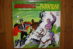 Official Adventures Of Mandrake And The Phantom (Leo 1967) (Donald Deveau) Tags: comicbook lp record comicstrip mandrake thephantom leefalk leorecords