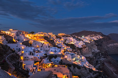 Fairy Dust (Nick Twyford) Tags: longexposure santorini greece bluehour oia aftersunset nofilters nikond800 nikkor160350mmf40
