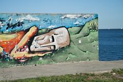 Exploring (Loree R.) Tags: street sleeping streetart argentina rio wall canon river pared graffiti calle buenosaires grafitti riverside grafiti sleep bluesky urbanart graffitti canonrebel draw dibujo dormir martinez costanera durmiendo artecallejero cieloazul arteurbano canoneosdigitalrebelxti