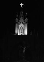Mount Mary Church, Bandra (thetravelingblock) Tags: church night christ prayer pray mumbai bandra mountmary
