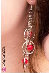 Sunset Sightings Red Earrings K1 P5920A-2