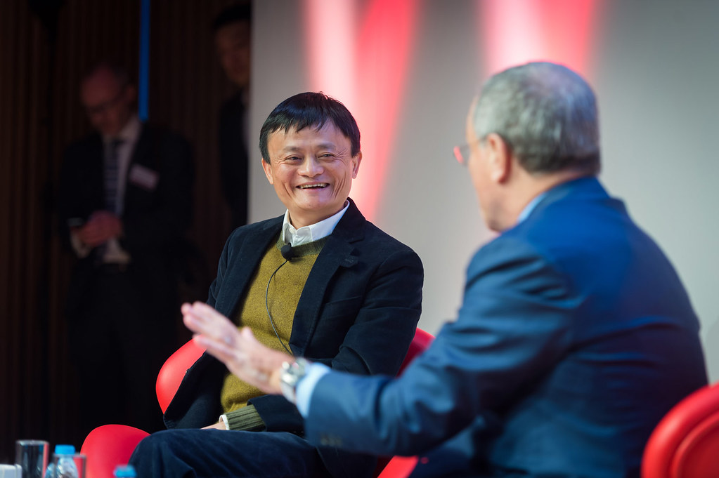 Jack Ma and Sir Martin Sorrell at GREAT by UKTI [closed account], on Flickr