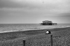 Beach romance.