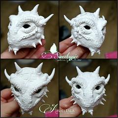 Atelier Cynamon new Head (Sakura-Streifchen) Tags: doll head handmade wip bjd selfmade balljointed balljointeddoll handsculpted ebjd ateliercynamon selfsculpted europeanballjointed