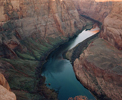 Horseshoe Bend (magnetic_red) Tags: arizona river bend canyon americanwest horseshoebend pentax67ii