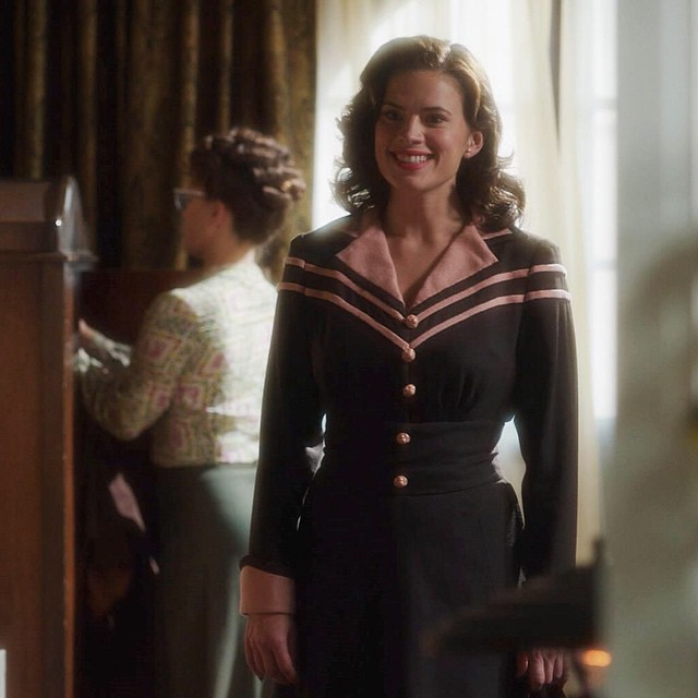 @realhayleyatwell she is 💎 great show #Loveit #AgentCarter #PeggyCarter @agent_carter