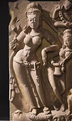 The River Goddess Yamuna and Attendants LACMA M.79.9.10.2a-b (9 of 12) (Fæ) Tags: wikimediacommons imagesfromlacmauploadedbyfæ sculpturesfromindiainthelosangelescountymuseumofart