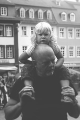 Piggyback (h.anderle) Tags: travel summer people blackandwhite bw 20d love me canon germany happy pretty canon20d memories lifestyle unposed dayinthelife thelittlethings lovelight throughmyeyes canonista