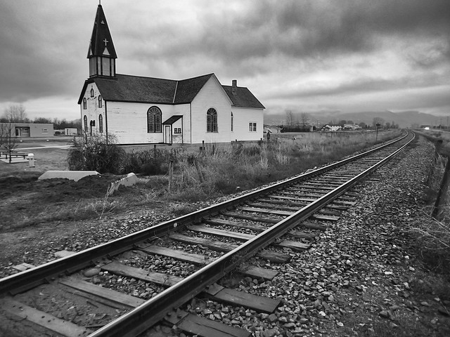 2014/365/40 The Old Church Down By The Railroad Tracks