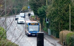 Unhappy spotter (bobsmithgl100) Tags: bus surrey solo ashvale dju route41 optare valeroad 47545 gx57dju gx57 stagecoachhantssurrey