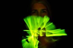 I Wand That (eddi_monsoon) Tags: portrait selfportrait self 365 glowstick selfie threesixtyfive