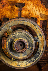 Colors In Corosion (Bill Gracey) Tags: arizona color colors metal rust colorful rusty rusted weathered corrosion macrolens miningequipment pitted directionallight offcameraflash goldfieldghosttown lastoliteezbox yn560ii