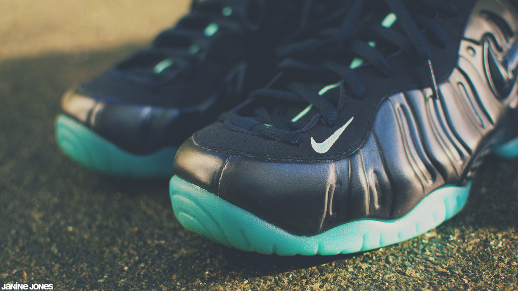 buy online cc06b d2f93 nike air foamposite pro (viewsfromthe519) Tags  morning light shoes aqua  turquoise air navy