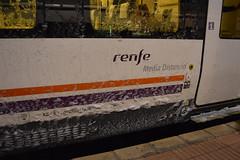 Renfe Media Distancia - 449 con restos de nieve en Valladolid Campo Grande (CARLOS123456) Tags: en de grande media nieve valladolid campo 449 con distancia renfe restos