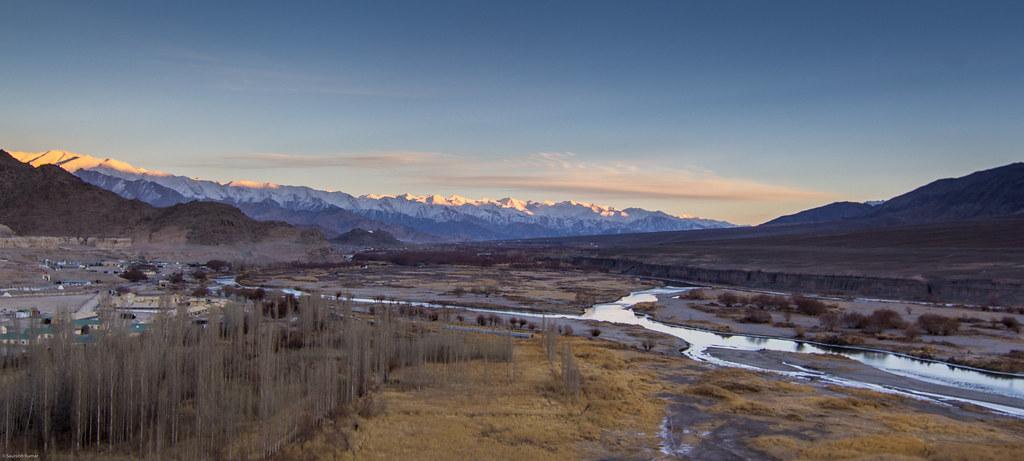 india landscape leh himalayas winters ladakh