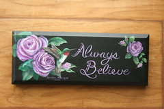 """""""Always Believe"""" Hummingbird painting by sherrylpaintz (sherrylpaintz) Tags: original usa holiday inspiration love nature floral leaves plaque woodland painting design wings colorful artist hummingbird heart natural folk ooak decorative wildlife country victorian style valentine american romantic chic custom majestic acrylicpainting whimsical treasures patina realism confidence primitive décor rosebuds realistic rubythroatedhummingbird cherish art"""" artist"""" """"american style"""" """"hand """"wall """"wildlife """"folk alwaysbelieve """"primitive painted"""" chic"""" """"shabby hummingbirdpainting """"decorative sherrylpaintz """"decorating"""