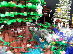 The Tree of Life (Brickadier General) Tags: trees winter animals forest lego contest fantasy treeoflife lifelites symphonyofconstruction