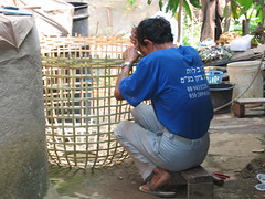 Thai Straw Basket and a Hand-me-Down T-Shirt