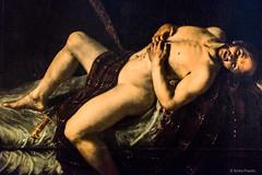 Angelo Caroselli: Der Selbstmord des Cato, c 1620 (Anita Pravits) Tags: vienna wien artgallery suicide exhibition academy ausstellung akademie selbstmord gemäldegalerie akademiederbildendenkünste angelocaroselli acadmeyoffinearts
