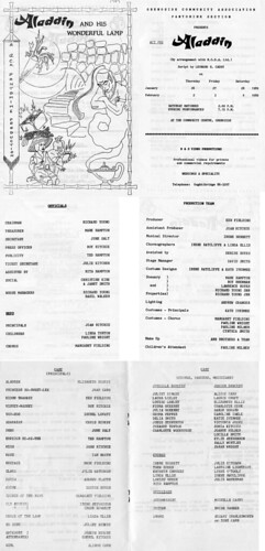 1989 Aladdin 00 Programme