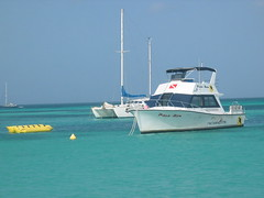 Pasa Bon Dive Boat Aruba
