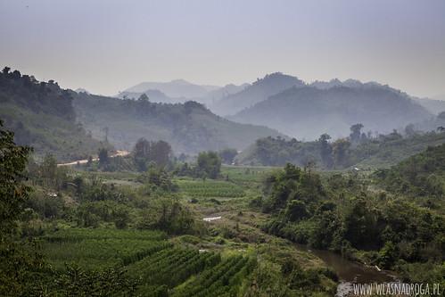 Laotańskie widoki