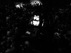 In The Spotlight (pam's pics-) Tags: cameraphone bw music concert colorado soundboard denver co jasonisbell pammorris pamspics hipsta appleiphone mobilephonephotography ogdentheatre hipstamatic iphone6s
