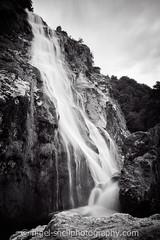 DSC_8024-2 (nigelsnell) Tags: bw freddie powerscourt ononesoftware photo10 water waterfall