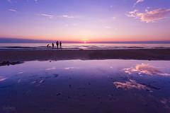 Summer Magic (Curtski22) Tags: blokhus denmark light ocean sea seaside shore silhouette sunset water