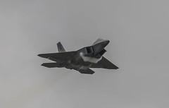 USAF F-22 Raptor - RIAT 2016 #6 (r.j.scott) Tags: royalinternationalairtattoo riat riat2016 royalairforce raf raffairford airshow aircraft airdisplay canon 550d usaf unitedstatesairforce f22 raptor stealth airsuperiority lockheedmartin 094191