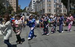 Soran Bushi: Hand (beppesabatini) Tags: 78thginzabazaar85thbonodori obon buddhistchurchofsanfrancisco japantown california streetfestivals kimonos dance beautyqueens churchbazaar buddhist buddhistchurchesofamerica