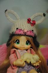 DSC_3821 (Maguynel ✿) Tags: kikipop bonnet lapin crochet