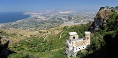 Vue d'Erice (Pierre Gaz) Tags: sicile sicilia erice panorama italie italia