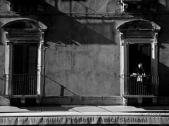 no title (pieroemme) Tags: street old windows bw white black art nikon sicily flikr catania sicilia streetphotograpy 18140 d7100