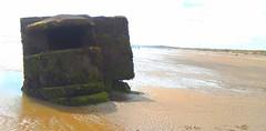 WW2 Pillbox 100m Out To Sea @ Fraisthorpe Beach , South of Bridlington , East Yorkshire , England , UK (Columbiantony-Leeds-W/Yorks-UK) Tags: defences world war ii fraisthorpe bridlington fraisthorpebeach earlsdyke earls dyke eastyorkshire esat yorkshire ww2 ww2relic ww2relics ww2building ww2buildings ww2history history beachfinds beachfind worldwar2 defencesofworldwarii worldwarii defence