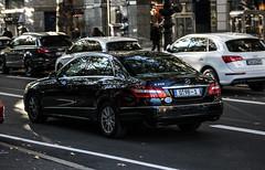 Germany Diplomatic (Niger) - Mercedes-Benz E350 CGI W212 (PrincepsLS) Tags: germany german diplomatic license plate 98 niger 1 berlin spotting mercedes benz e350 cgi w212