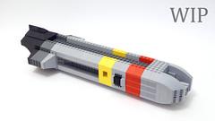 Ship C (Magnus the Great) Tags: communitybuild exodus lego microscale microspace scifi ship spaceship space swebrick wip