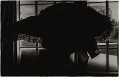 By the Window (Evoljo) Tags: uk house window hat silhouette wales lady blackwhite nikon newport wife tredgar d7100