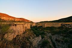 Barranco de los Lecheros (mixtli1965) Tags: sunset horizontal landscape atardecer nikon paisaje dia zaragoza barranco lecheros d7100 alfocea tokina1116mmf28