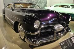 The New Petersen Automotive Museum (USautos98) Tags: cadillac hotrod 1949 caddy streetrod zztop kustom caddie billygibbons boydcoddington cadzzilla