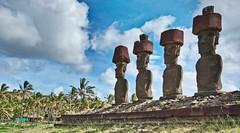 rapanui magic (dmbyon) Tags: chile moai pacfico misterio rapanui isladepascua