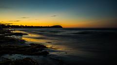 Sunset (kornflakezzz) Tags: sun sunset sonnenuntergang strand beach licht sonne light dmmerung foto shot meer ocean baltic sea lbeck luebeck travemnde sony alpha a57 sigma