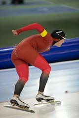 A37W3565 (rieshug 1) Tags: speedskating schaatsen eisschnelllauf skating worldcup isu juniorworldcup worldcupjunioren groningen kardinge sportcentrumkardinge sportstadiumkardinge kardingeicestadium sport knsb ladies dames 3000m