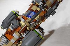 "GAWS-3 ""Nebula Prime"" 5 (LegoLord82) Tags: lego micro space spacestation future star trek wars aliens outer futuristic"