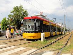 "PESA 128N ""Jazz-Duo"", #3624, Tramwaje Warszawskie (transport131) Tags: tram tramwaj pesa tw ztm warszawa warsaw 128n jazzduo"