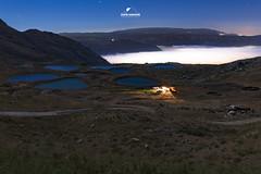 Pools And A White Sea (boukarimkarim) Tags: nightshooting longexposure stars fog pools moonlight blue karimboukarim canon6d lebanon